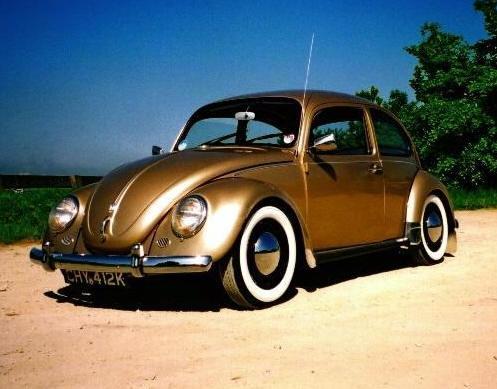 Inexplicable Volkswagen Beetle