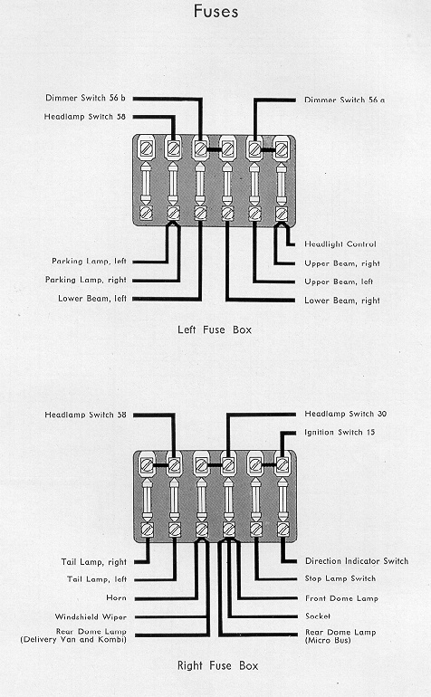 72 karmann ghia wiring diagram 1950 to 1953  1950 to 1953