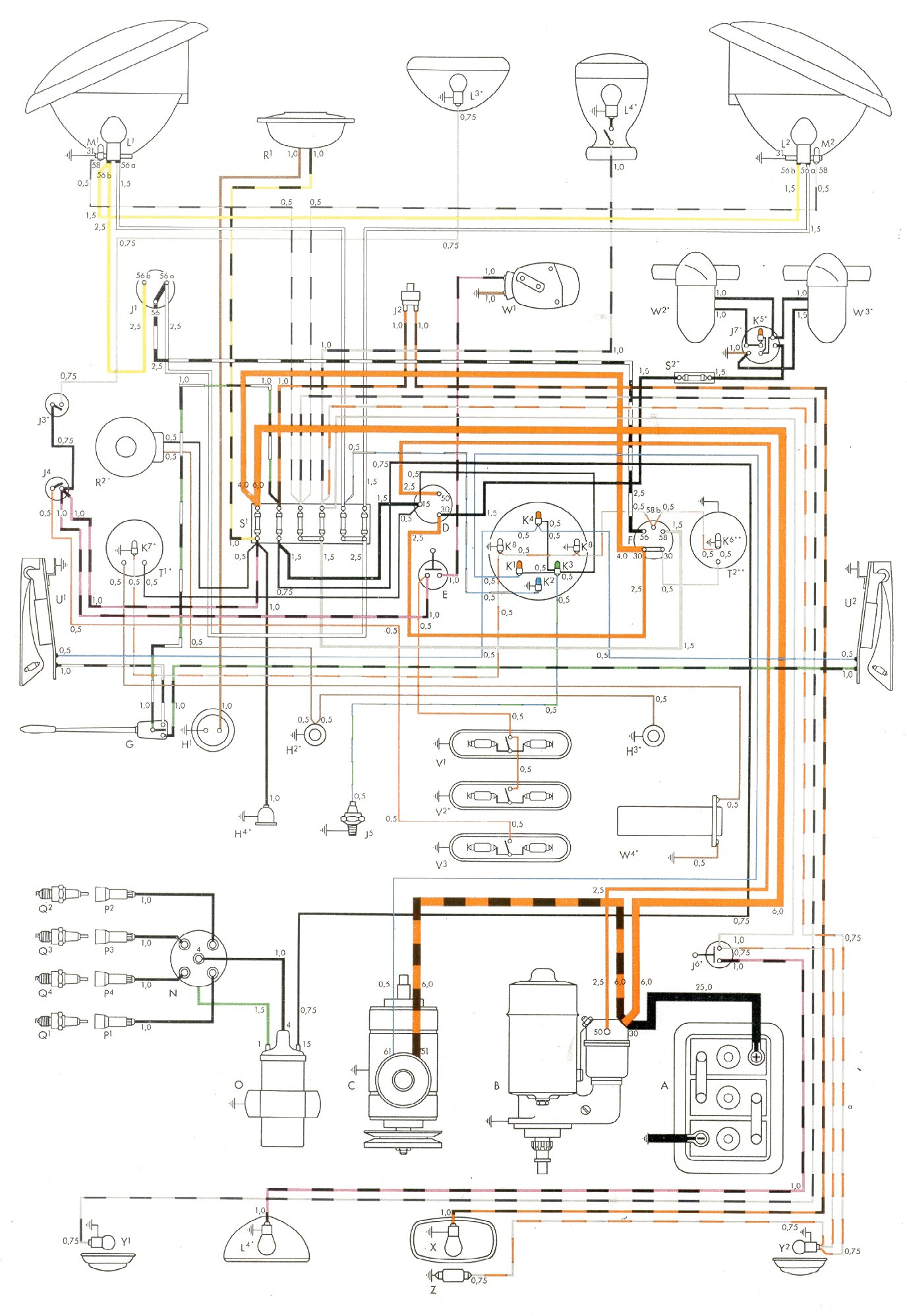 blue bird bus wiring diagrams