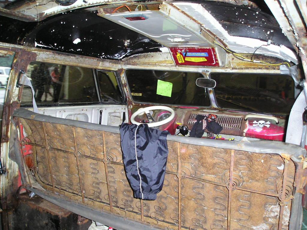 Seagul Wing Ghost Custom The Split Screen Van Club
